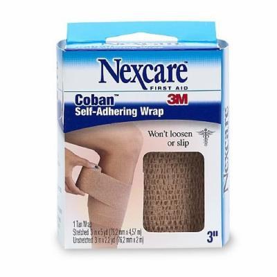 Nexcare Coban Self-Adhering Wrap, 1 ea Pack of 5