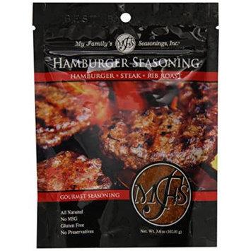 My Family's Seasonings, Inc. Hamburger Seasoning, 3.6 Ounce Pouch