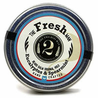 The 2Bits Man The Fresh Man Beard Balm Spearmint and Eucalyptus