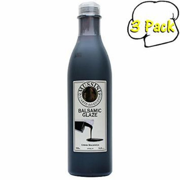 Italian Natural Flavored Dark Balsamic Glaze, 16.9 Ounces, 3 Per Case