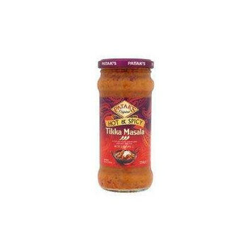 Patak's Hot & Spicy Tikka Masala Curry Sauce 350G