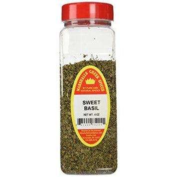 Marshalls Creek Spices X-Large Size Sweet Basil,4 Ounces