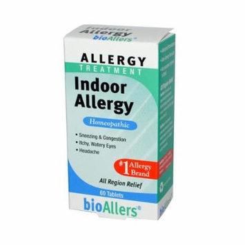 New - Bio-Allers Indoor Allergy - 60 Tablets