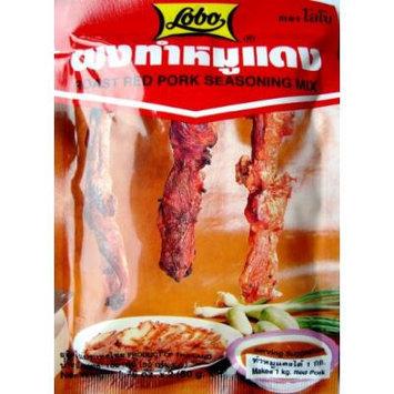 Lobo Roast Red Pork Seasoning Mix Thai Food Cook 100g.