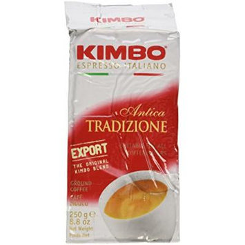 Kimbo Espresso Export Ground Coffee 2 Bags 8.8oz/250g each