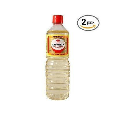Kikkoman Manjo Aji-mirin, 33.8-Ounce Bottle (Pack of 2)