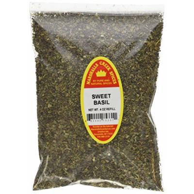 Marshalls Creek Spices X-Large Refill Sweet Basil,4 Ounce