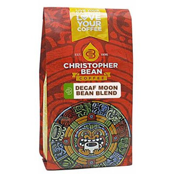 Christopher Bean Coffee Decaffeinated Ground Coffee, Decaf Moon Bean Blend, 12 Ounce