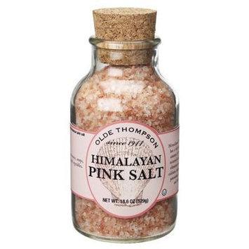 Olde Thompson Natural Himalayan Pink Salt, 18.6 Ounce Jar