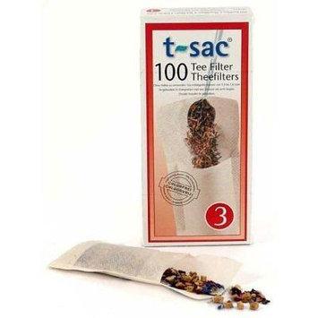T-Sac Tea Filter Size 3 - 400 Filters