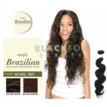 Outre Simply Brazilian Natural Body 100% Non-processed Hair - Natural Brown (14 INCH)