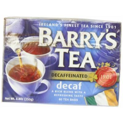 Barry's Tea, Decaffeinated, 80-Count Box