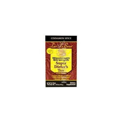 Natrol Laci Le Beau Super Dieter's Tea, Cinnamon Spice, 12 Count