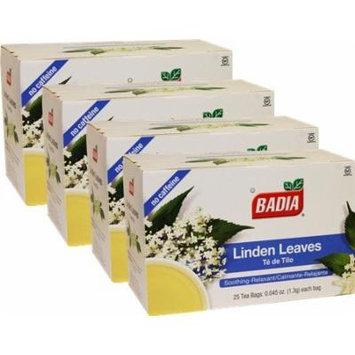 Linden Tea by Badia 100 Tea bags