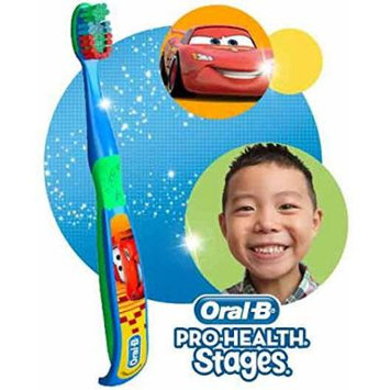 Disney's Cars Ready...Set...Brush! 2 Piece Set Includes: (1) Extra Soft Manual Toothbrush & (1) Crest 4.2 Oz Fruit Burst Flavored Toothpaste!