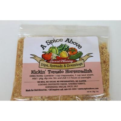 A Spice Above Kickin' Tomato Horseradish
