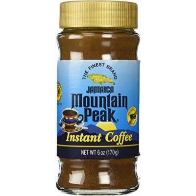 Jamaica Mountain Peak Instant Coffee 6 OZ