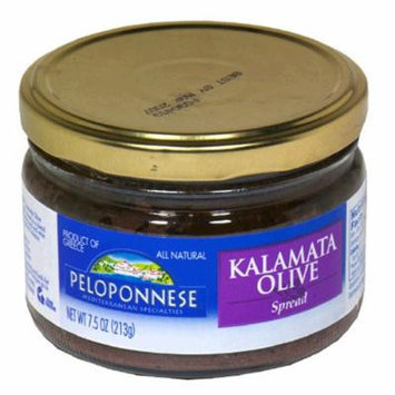 Peloponnese Kalamata Olive Spread, 7.5-Ounce Units (Pack of 6)