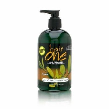 Hair One Cleanser And Conditioner For Color Treated Hair Sulfate Free 355Ml