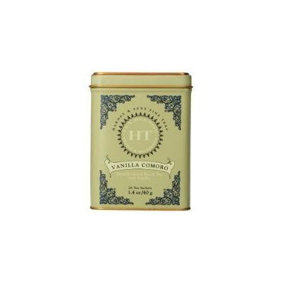 Harney and Sons Vanilla Comoro, Decaf Flavored Black 20 Sachets per Tin