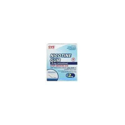 CVS Nicotine Polacrilex Gum 2 Mg Original - 110 PIECES