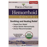 Forces of Nature Hemorrhoid Extra Strength, 33 ml