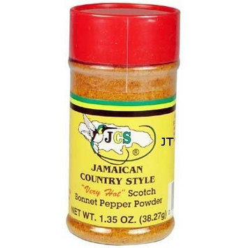 JCS Scotch Bonnet Pepper Powder 1.35 oz (3pack)