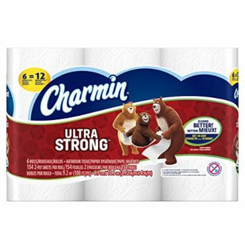 Charmin Ultra Strong Bathroom Tissue Double Rolls - 6 CT