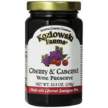 Kozlowski Farms Wine Preserve, Cherry and Cabernet, 10.5-Ounce (Pack of 6)