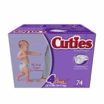 Cuties JR Club Premium Diapers (4)