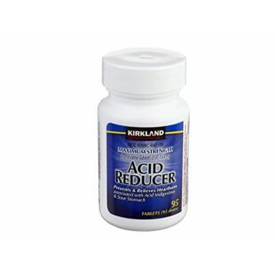 Kirkland Signature Acid Reducer Ranitidine 150mg - Each Bottle 95 Tablets (3 Bottles)