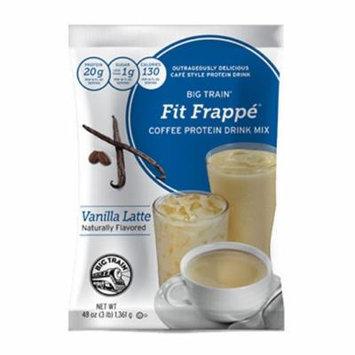 Big Train Vanilla Latte Fit Frappe 3lb Single Bag