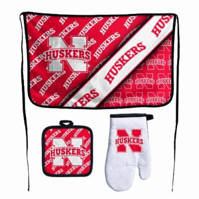 NCAA Nebraska Cornhuskers Premium Barbeque Tailgate Set