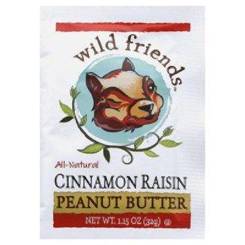 Wild Friends Peanut Butter Squeeze Pack Cinnamon Raisin -- 1.15 oz