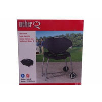 Weber Baby Q 100 Series Vinyl Black Gas Grill Cover