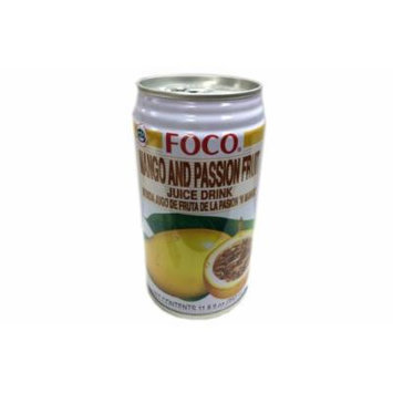 Foco Mango and Passion Fruit Juice Drink - 11.8fl Oz (Pack of 1)
