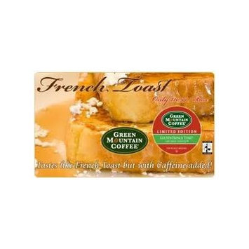 Green Mountain Golden French Toast- 1 NEW box of 24 K-cups - seasonal Limited Edition!