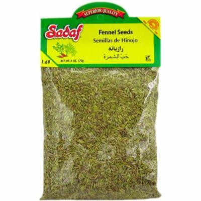 Sadaf Fennel Seed (Semillas De Hinojo), 6-ounce (Pack of 1)
