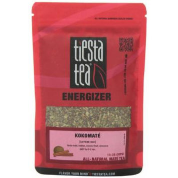 Tiesta Tea Energizer Mate Tea, Kokomate, 2.0 Ounce