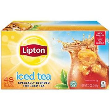 Lipton Black Iced Tea, Family Size 48 ct