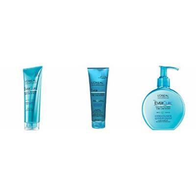 L'Oréal Paris EverCurl Hydracharge Shampoo, Conditioner & Leave in Cream
