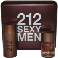 212 Sexy Men Eau-De-Toilette Spray, After Shave Lotion by Carolina Herrera, 2 Count