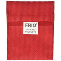 Frio Cooling Wallet- MINI - Red- Holds Single Insulin Vial or Eye Drop Bottle - Keeps insulin cool more than 45 hours without EVER needing refrigeration!--Low Shipping Rates--