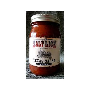 Salt Lick Salsa 16oz (Pack of 3) (Texas Salsa - Medium)