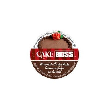 Cake Boss Coffee - Chocolate Fudge Cake - 48 Single Serve K Cups for Keurig Brewers