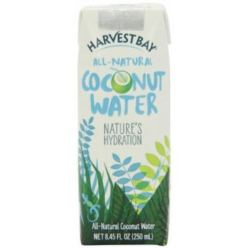 Harvest Bay Coconut Water, 8.45 Ounce (Pack of 24)