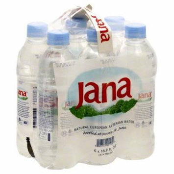 Jana European Artesian Water 6 pack, 16.9000-ounces (Pack of4)