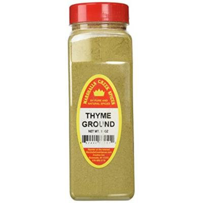 Marshalls Creek Spices X-Large Size Thyme, Ground, 16 Ounces