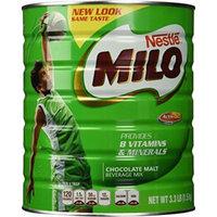 Nestlé Milo Chocolate Malt Beverage Mix Jumbo 3.3 Pound Can (1.5kg)
