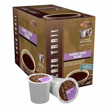 Caza Trail Coffee, Donut Shop Blend, 24 Single Serve Cups